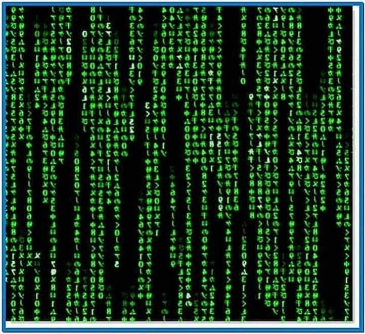 Matrix Screensaver PC