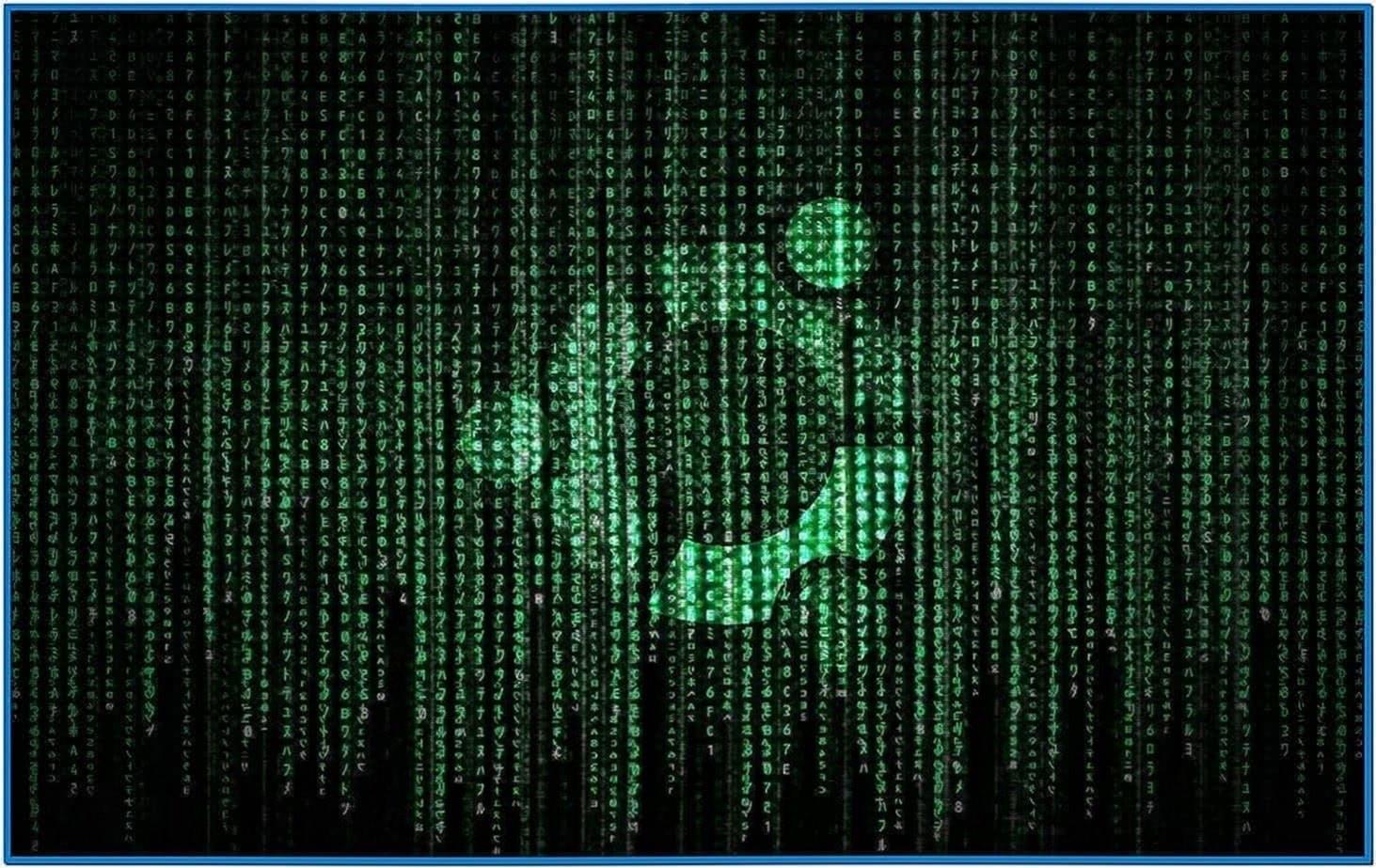 matrix screensaver ubuntu