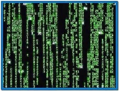 Matrix Screensaver Windows 7 32bit
