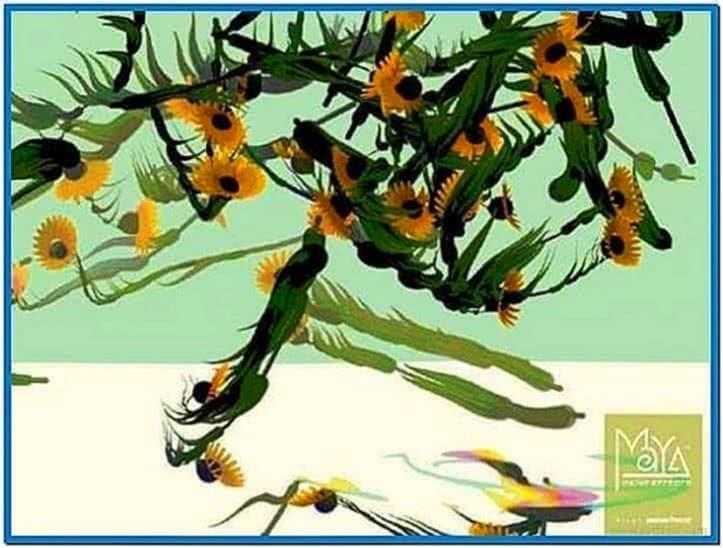 Maya Paint Effects Screensaver Windows 7