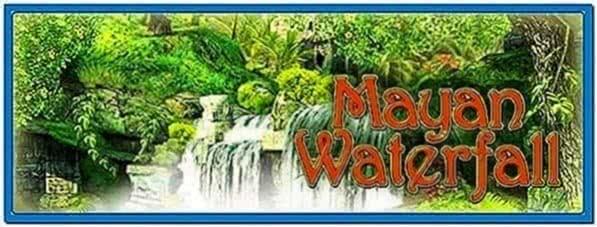 Mayan Waterfall 3D Screensaver 1.0 3planesoft