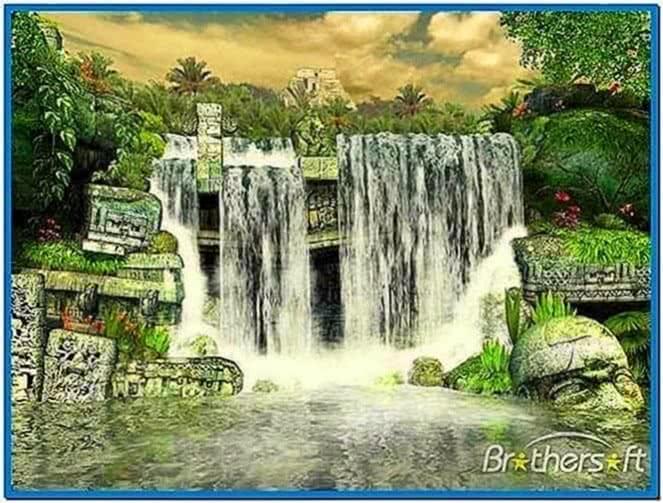 ... free waterfall screensaver 22919 waterfall 2 1221892608zbwwvum 3d