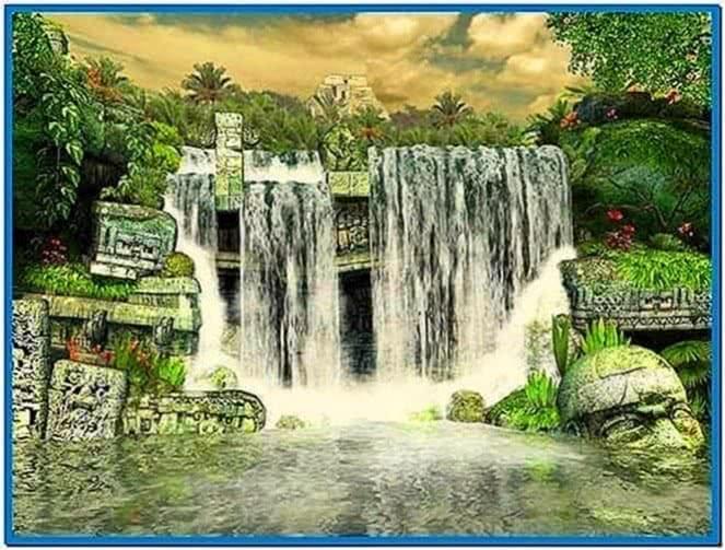 Mayan Waterfall 3D Screensaver 1.0