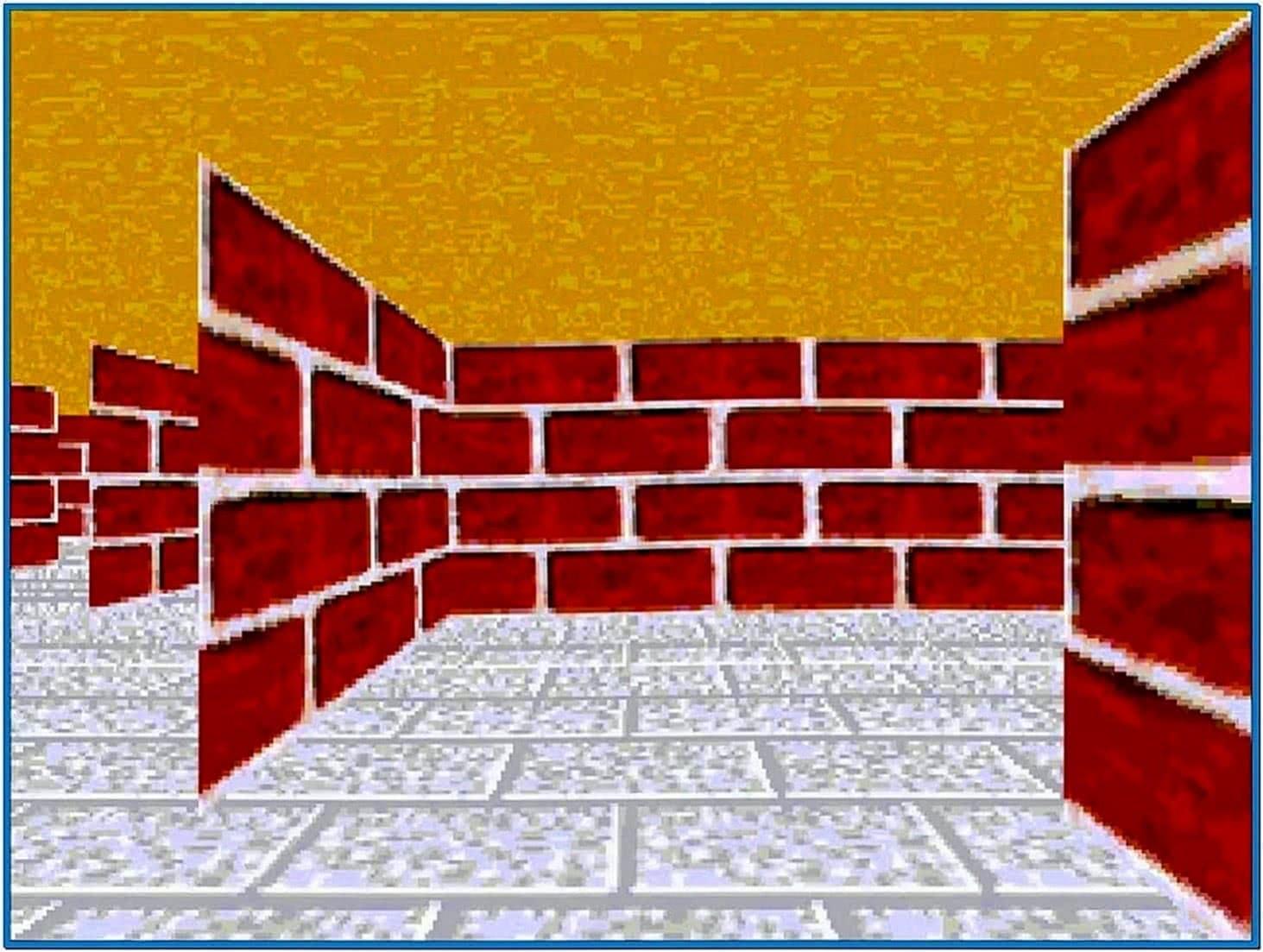 Maze Screensaver Linux