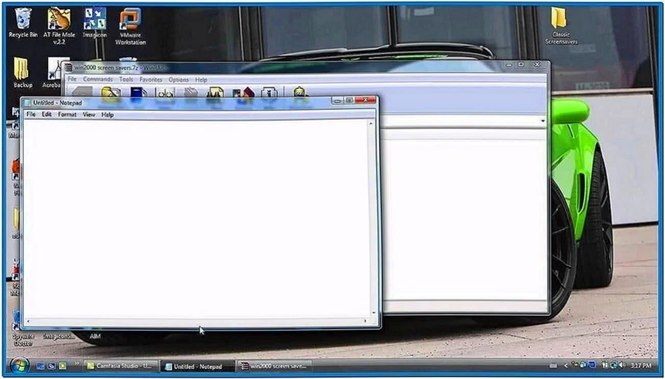 Maze Screensaver Vista