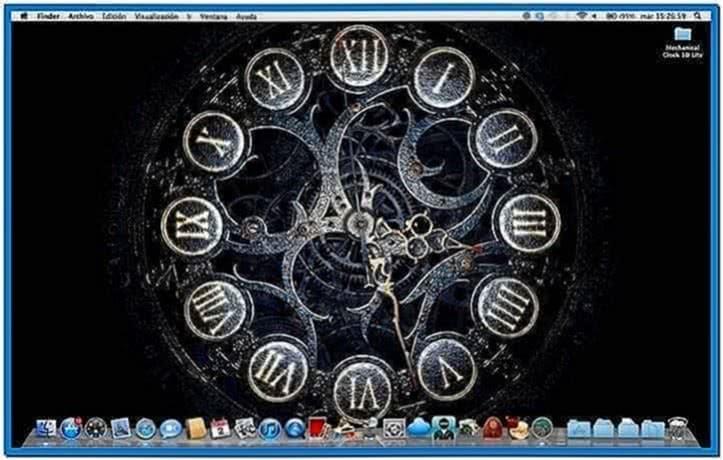 Mechanical clock 3D screensaver 1.1
