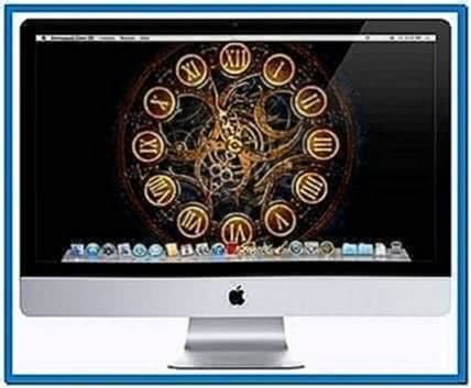 Mechanical Clock 3D Screensaver Mac