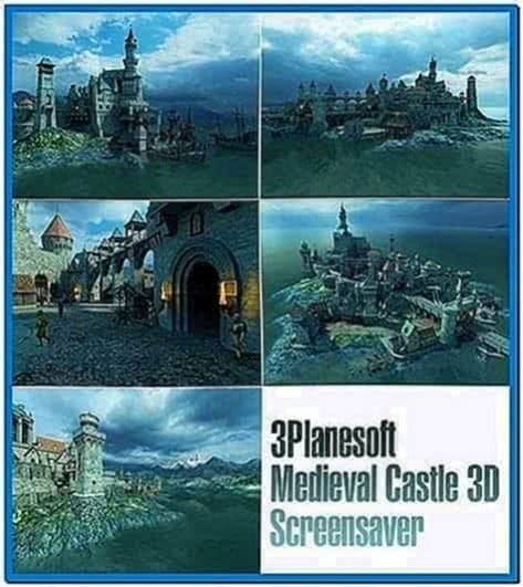 Medieval Castle 3D Screensaver 1.1