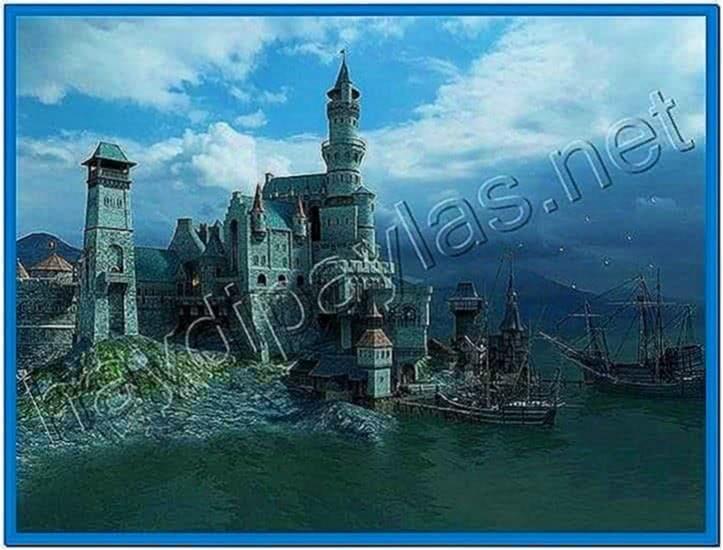 Medieval castle 3D screensaver 1.1.0.5 multilingual