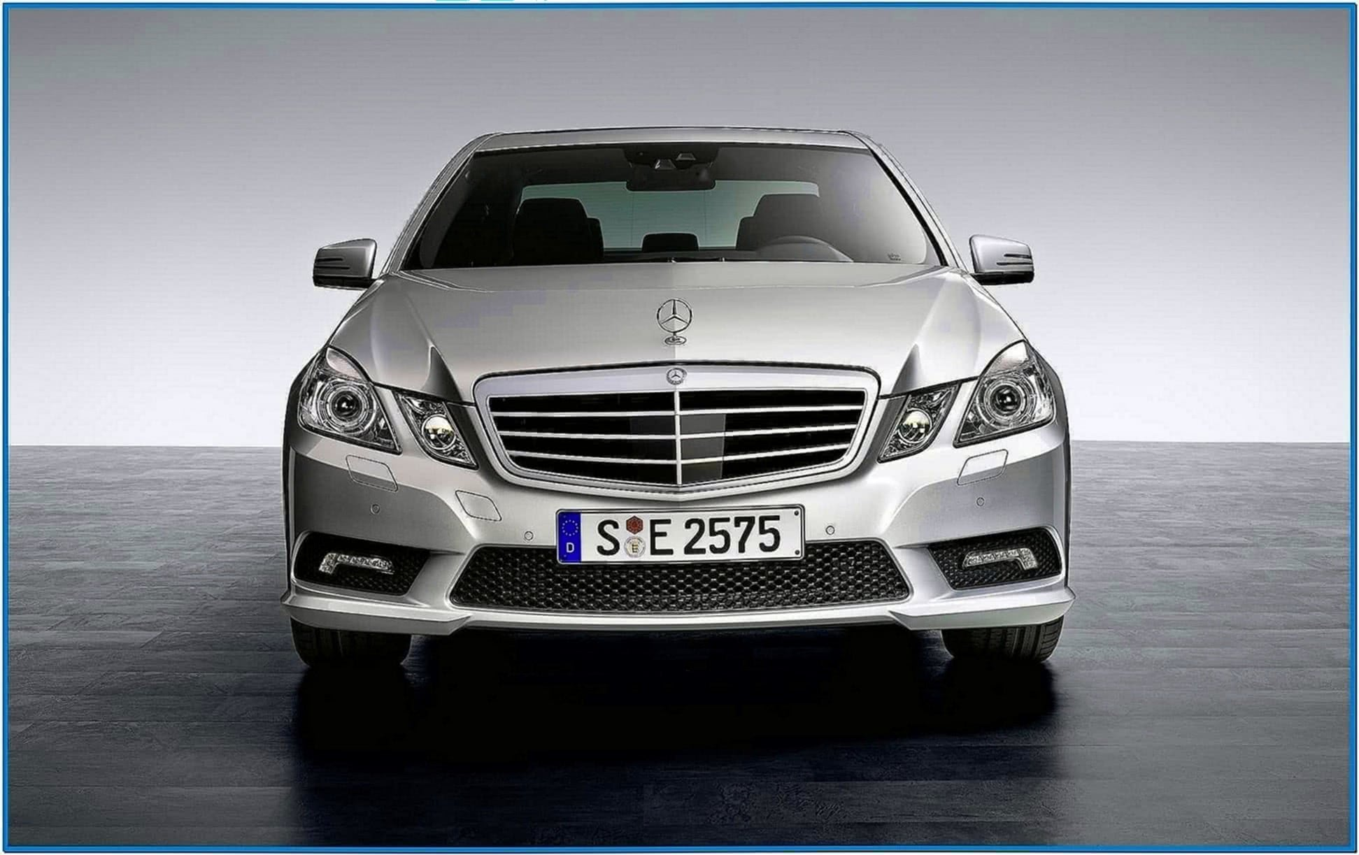 Mercedes Benz E Class Screensaver