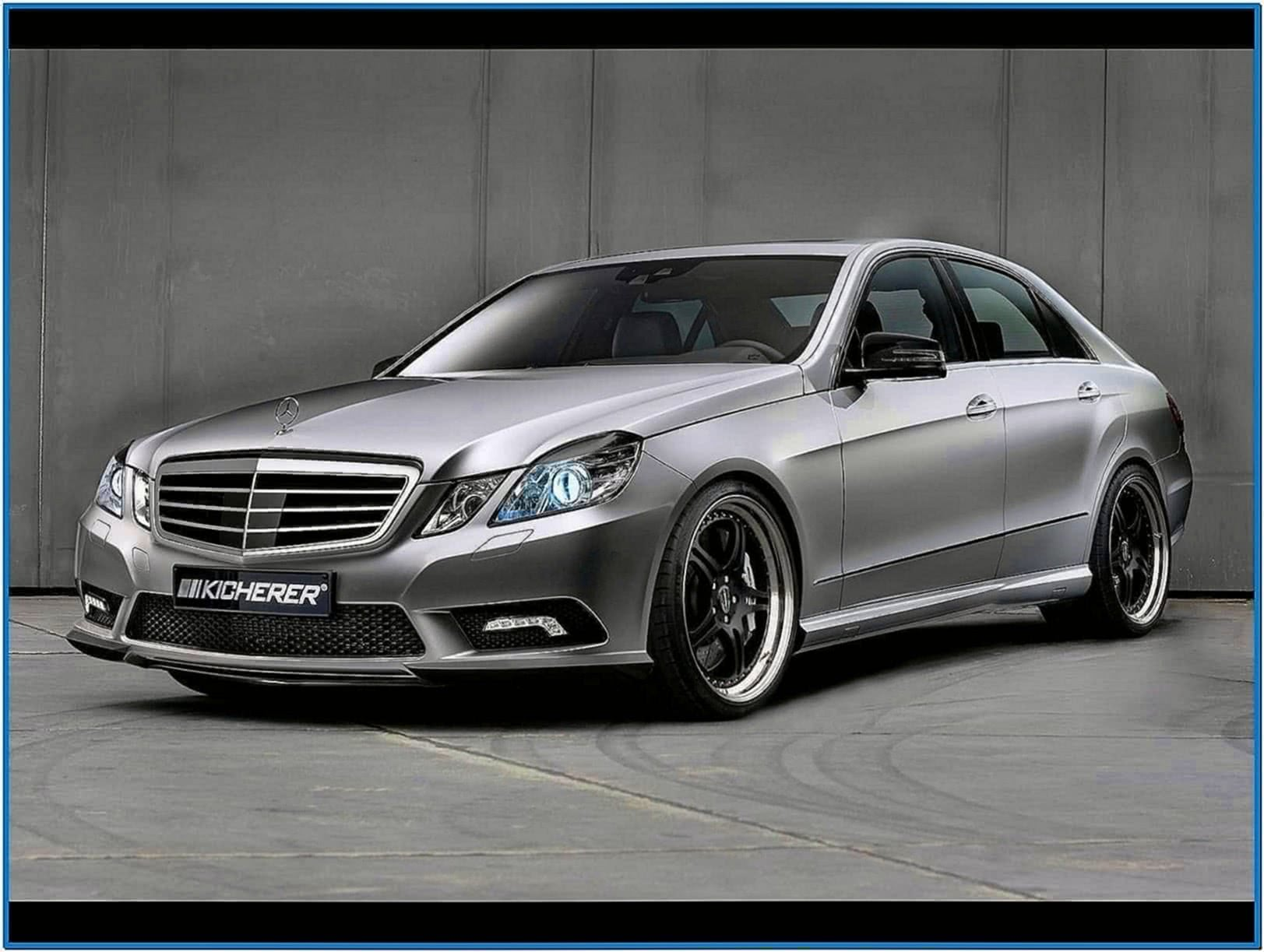 Mercedes Benz E Class Screensaver