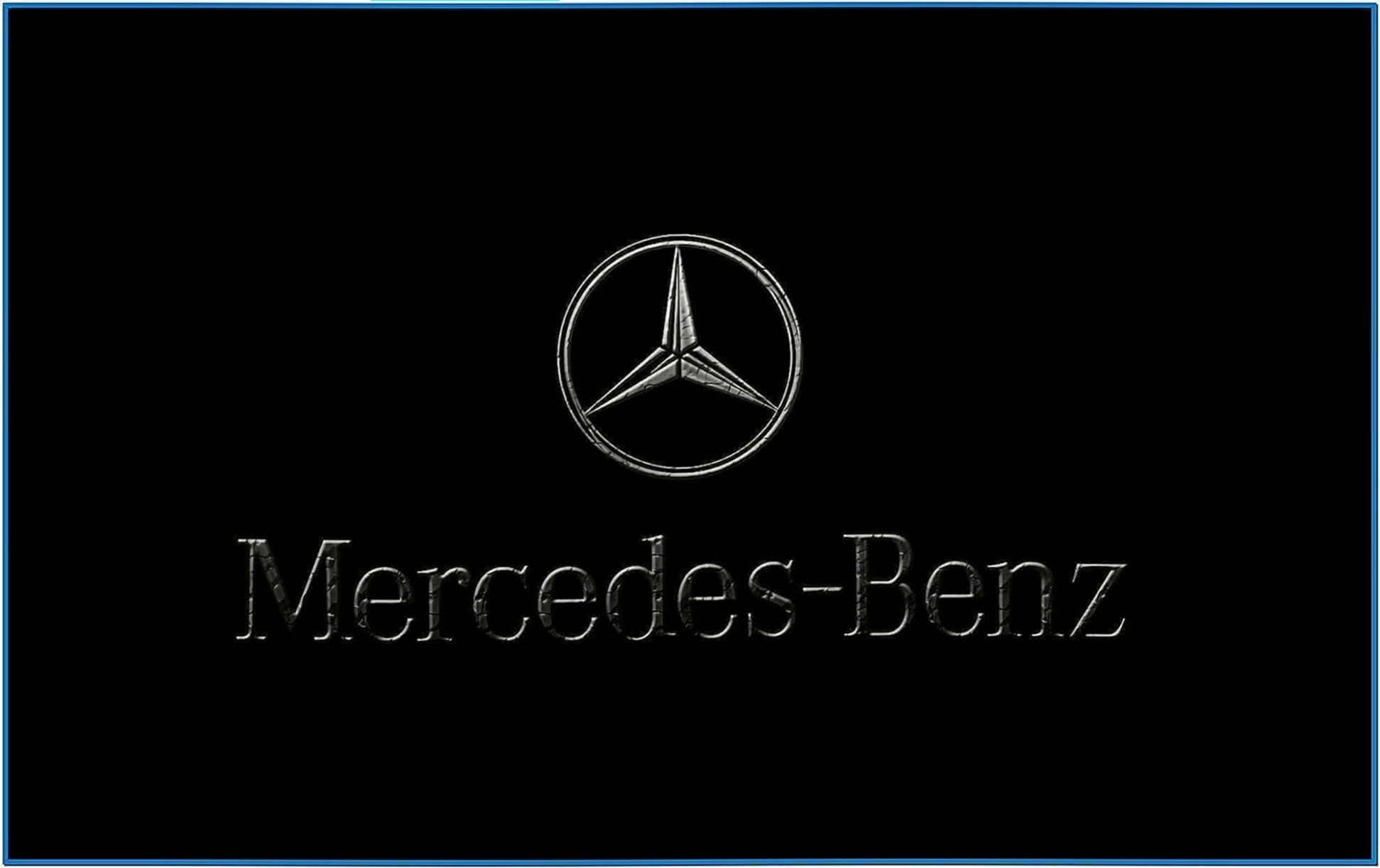 Mercedes Benz Logo Screensaver