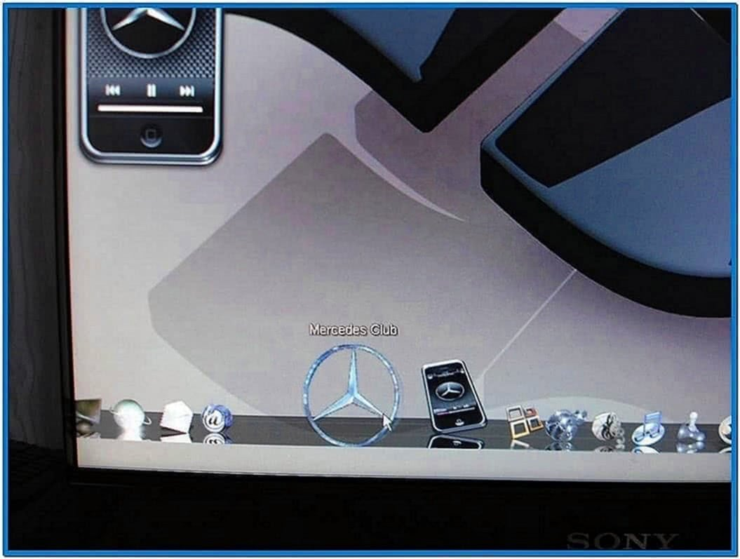 Mercedes benz rotating star screensaver