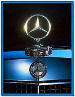 Mercedes Benz Star Logo Screensaver