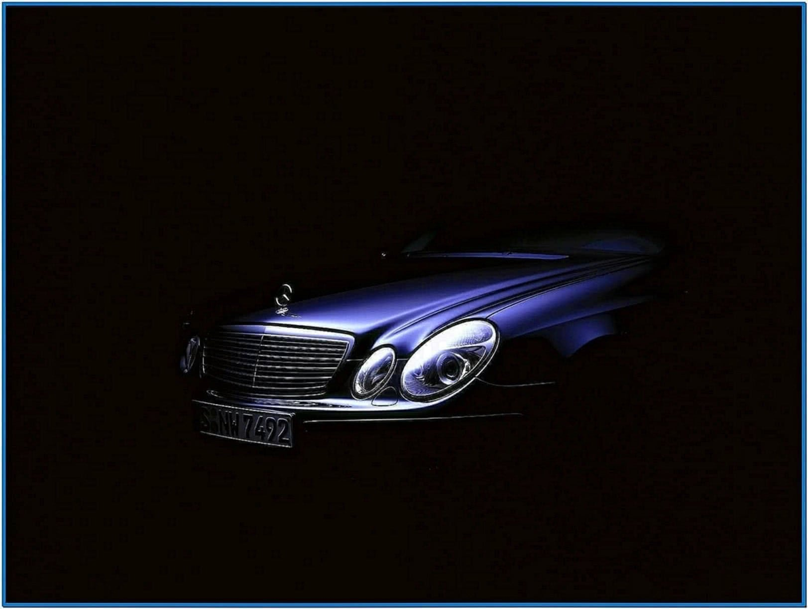 Mercedes E Class Screensaver