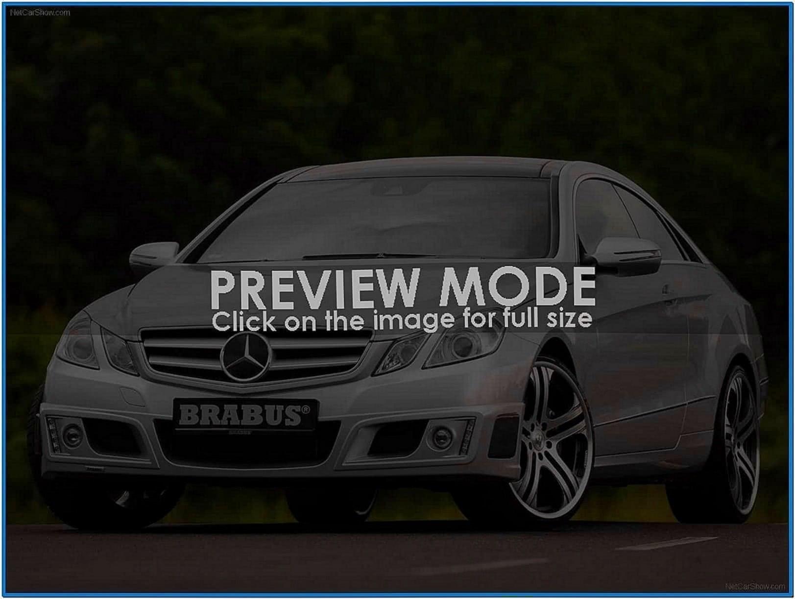 Mercedes e class screensaver