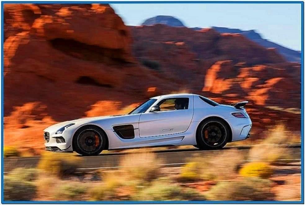 Mercedes Screensaver Mac