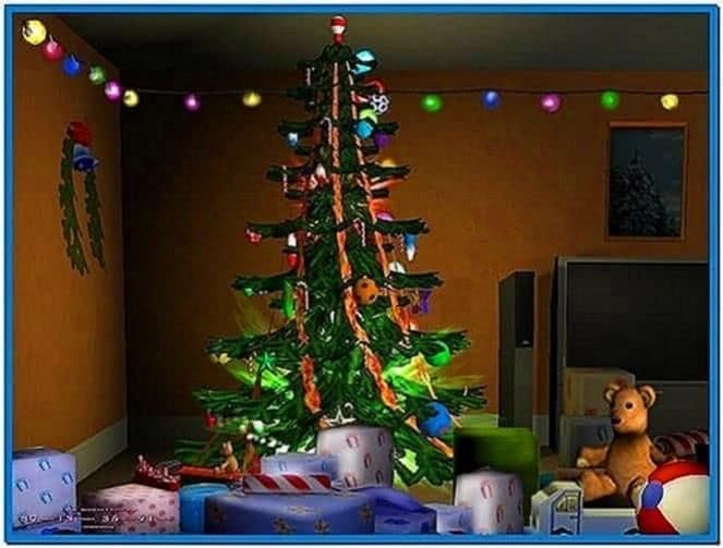 Merry Christmas 3D Screensavers