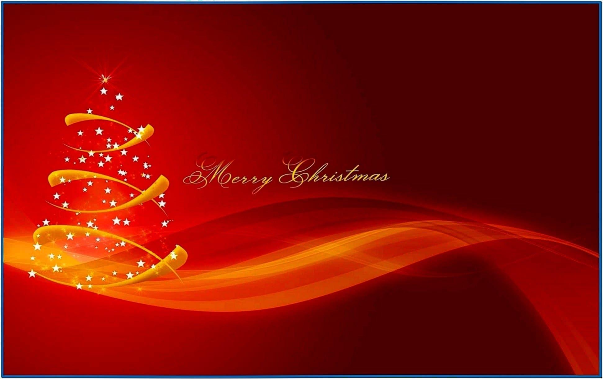 Merry Christmas Animated Screensaver