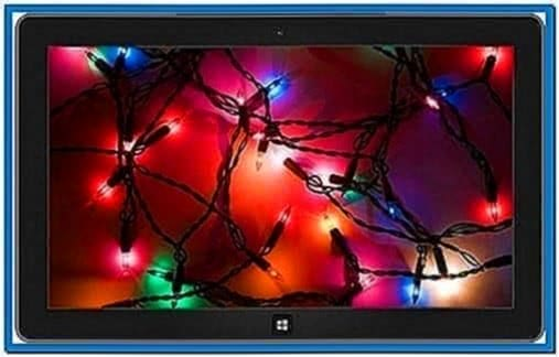 Microsoft Holiday Screensaver