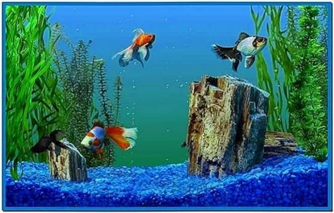 Microsoft Plus Aquarium Screensaver Windows 7
