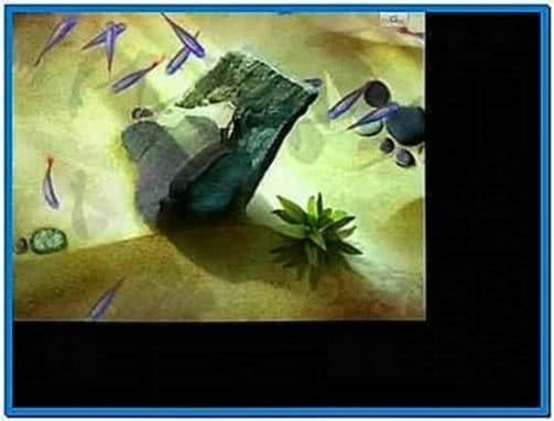 Microsoft Surface Lagoon Screensaver
