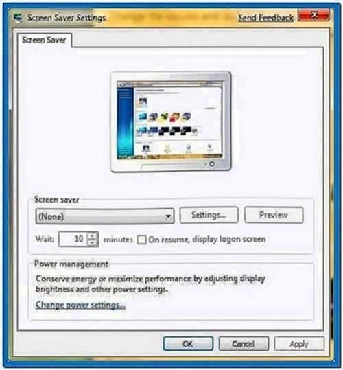 Microsoft Windows 7 Photo Screensaver