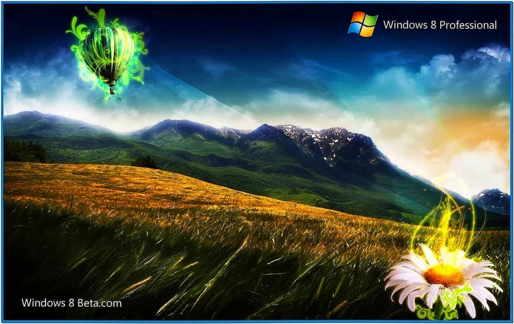 Microsoft Windows 8 Screensavers