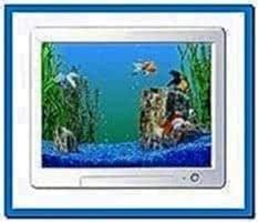Microsoft Windows aquarium screensaver