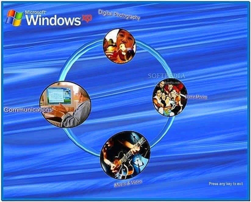 Microsoft Winter Screensaver