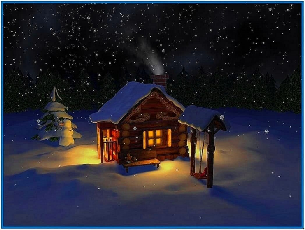 Mild Winter 3D Screensaver
