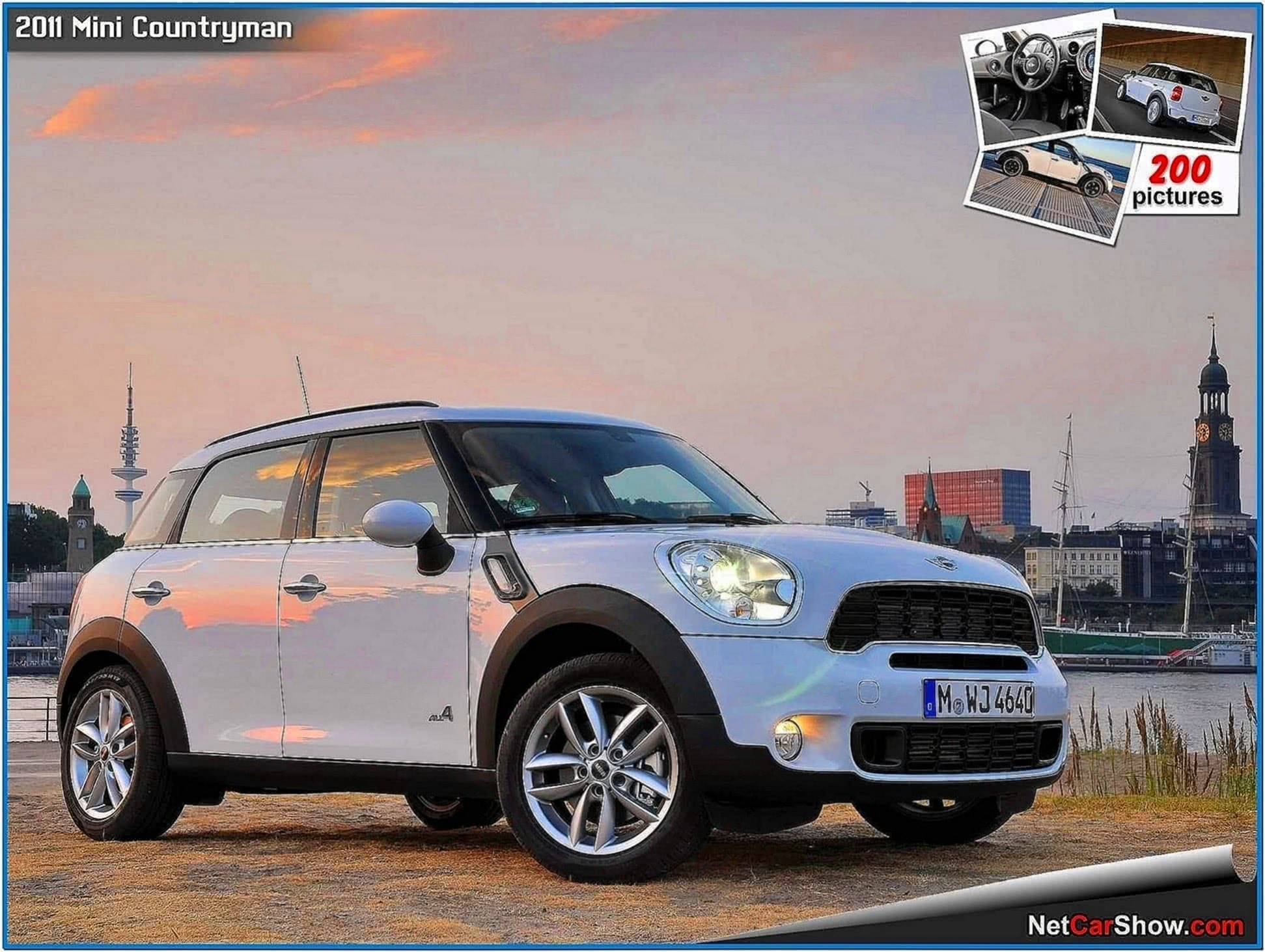 Mini Cooper Countryman Screensaver