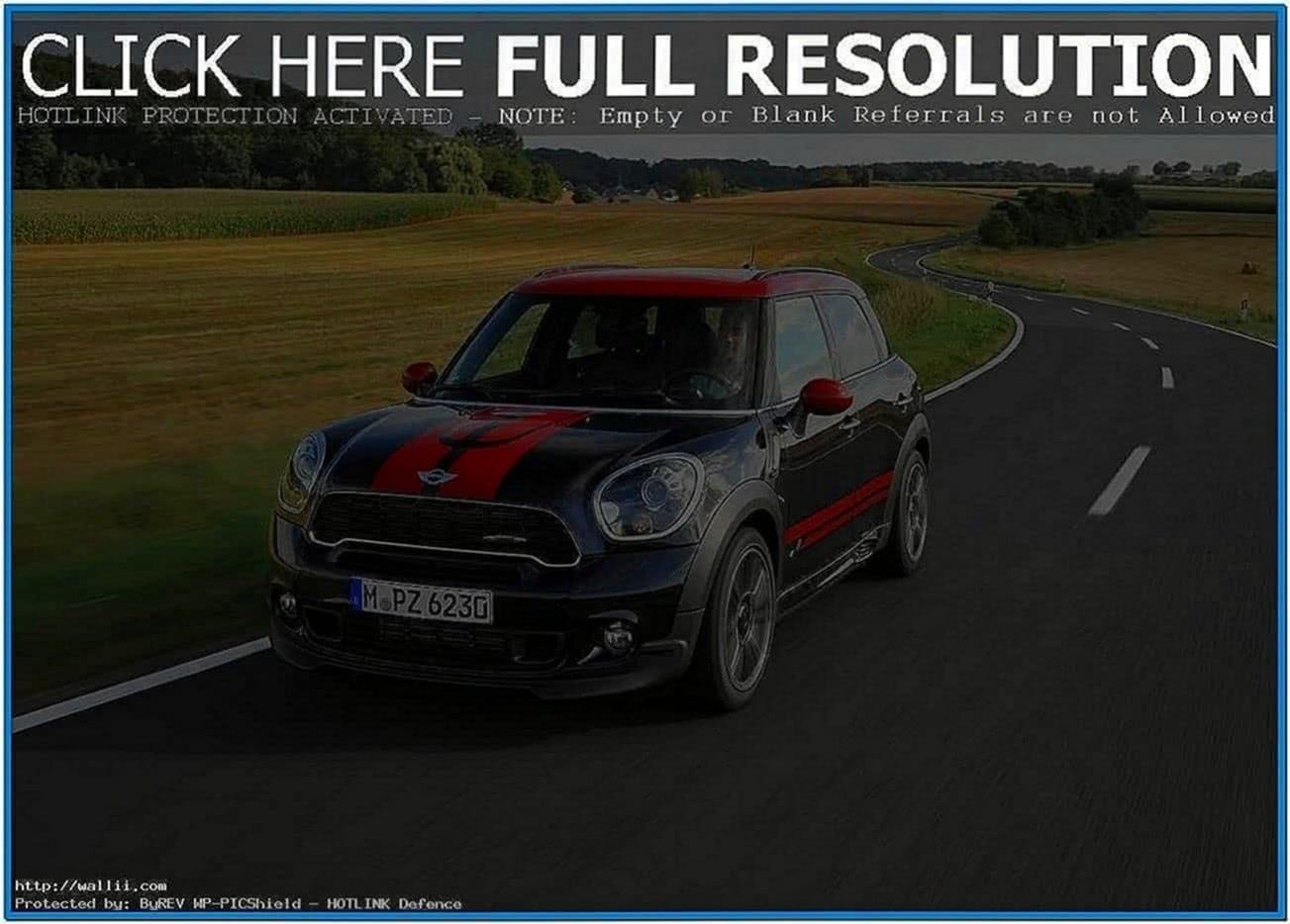 Mini Cooper Screensaver Windows 7