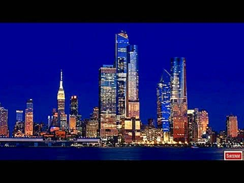 New York Skyline at Night Screensaver HD NYC Skyline