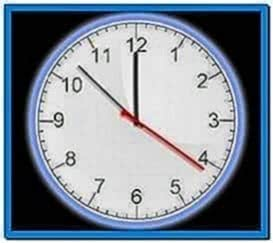 Mobile Phone Analog Clock Screensaver