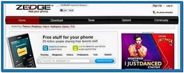 Mobile Phone Screensaver Maker