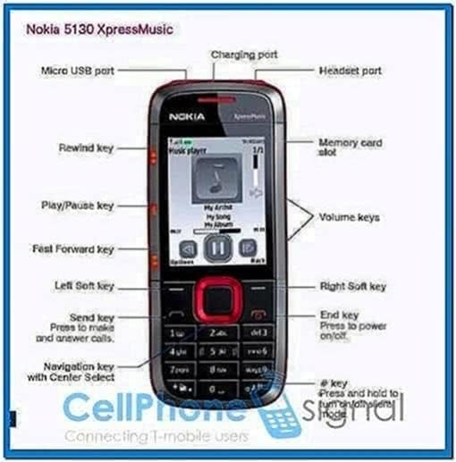 Mobile Screensaver for Nokia 5130