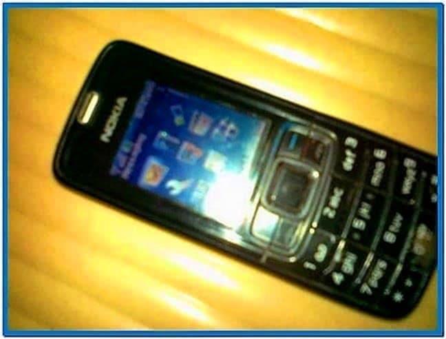 Mobile screensaver Nokia 3110c