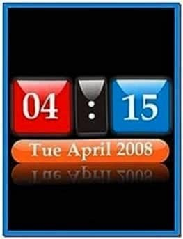 Mobile Screensavers Digital Clock