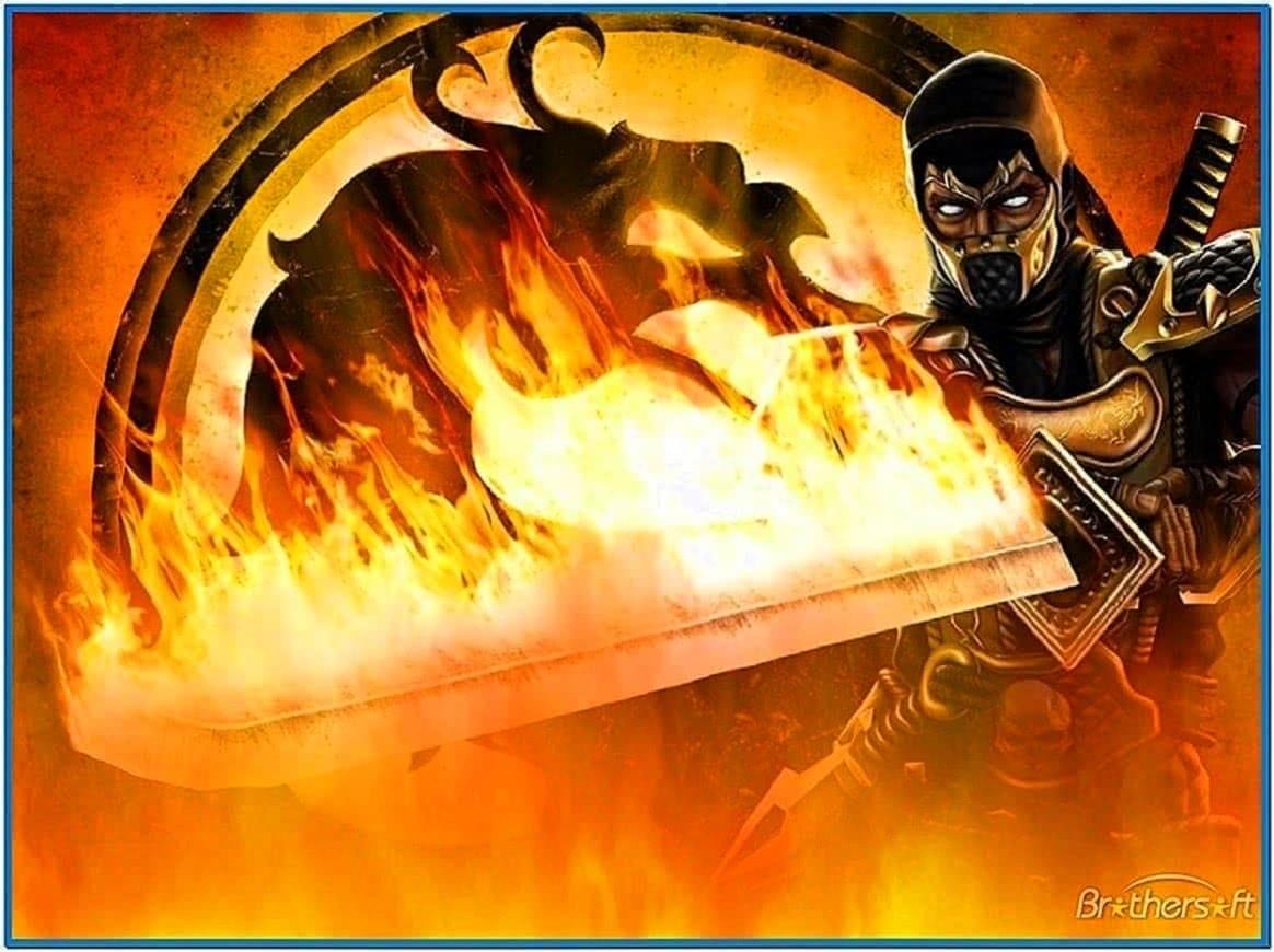 Mortal Kombat Animated Screensaver
