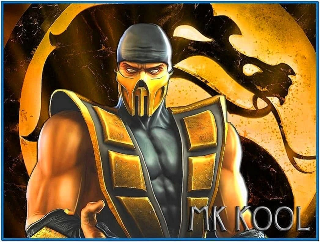 Mortal Kombat Scorpion Screensaver