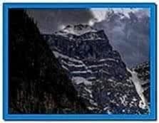 Mountain Rainstorm Screensaver