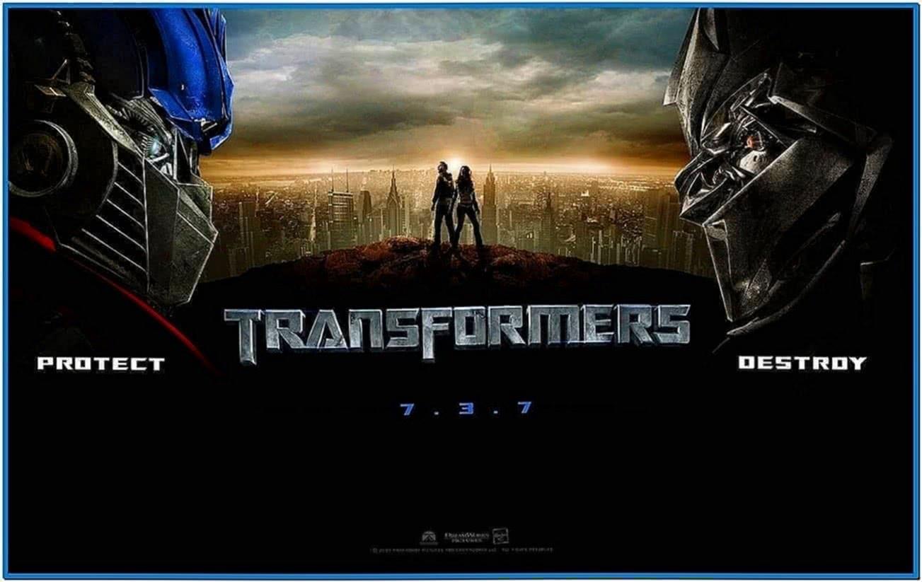 Movie Wallpapers Net Transformers Screensaver