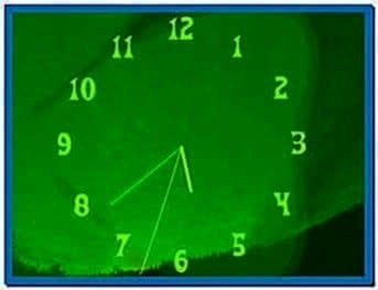 Moving Clock Screensaver Software