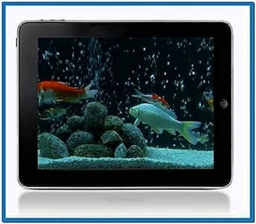 Moving Fish Screensaver for iPad