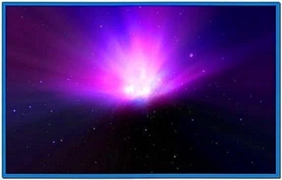 Moving Galaxy Screensaver Mac
