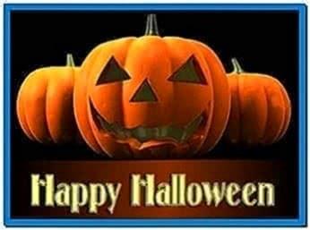 Moving Halloween Screensaver