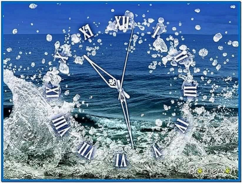 Moving Water Screensaver Mac