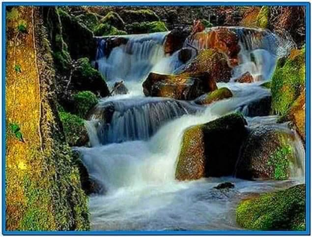 Moving Waterfall Screensaver Download Free