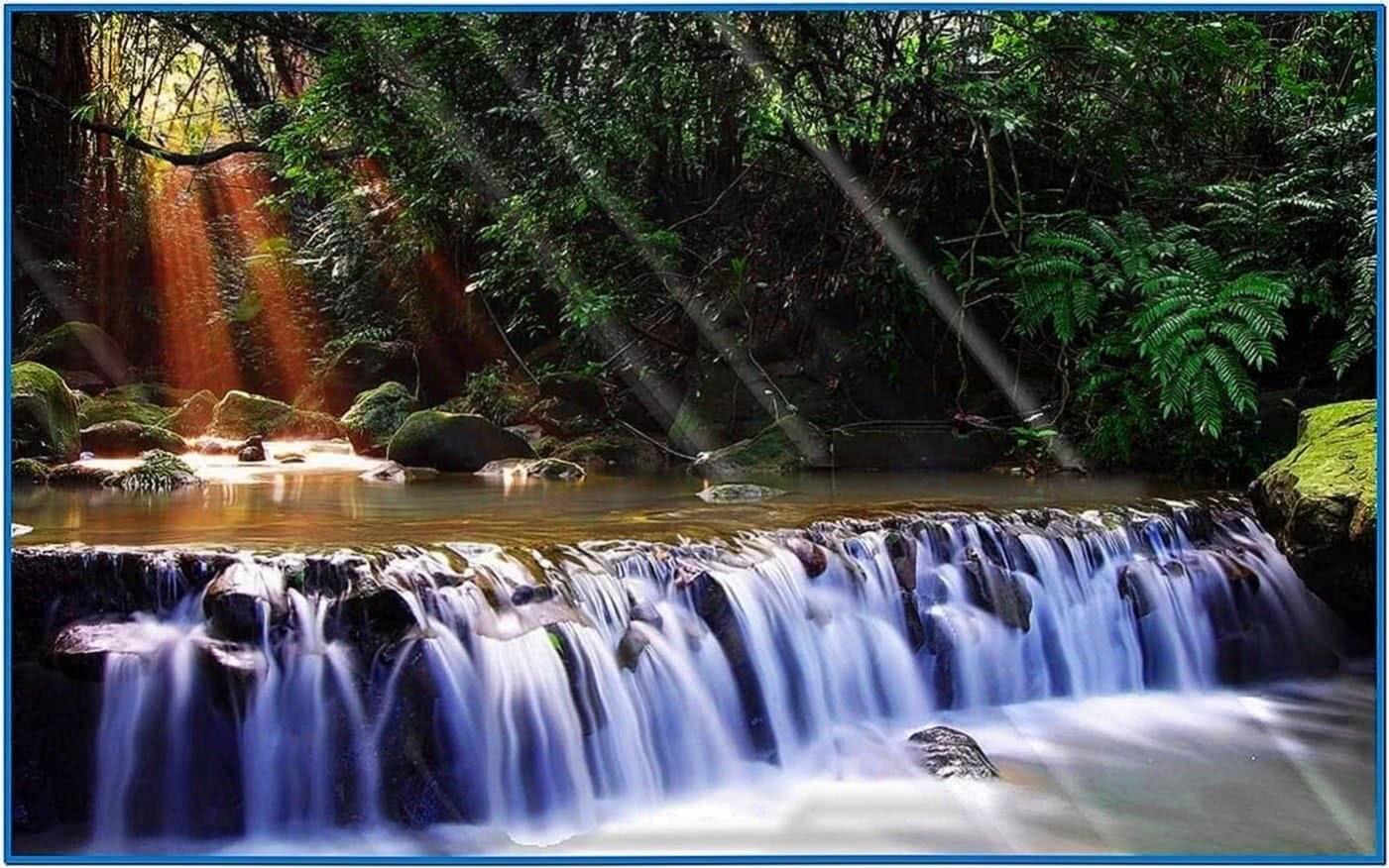 Moving Waterfall Screensaver Windows 7